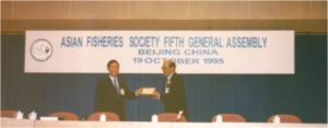 5th General Assembly was held at the end of 4AFF – award to Dr Efren Flores