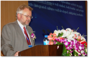 Keynote speaker Prof Yngvar Olsen, Norwegian University of Science and Technology (NTNU),