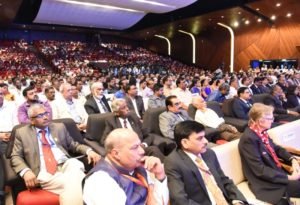 A view of the dignitaies and participants of the IFAF during the inagural function
