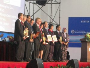 9th Asian Fisheries  Aquaculture Forum  Gold Awardees