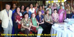 2007 GAF2 Networks meeting, GAF2 @ 8AFF Kochi