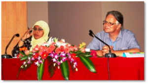 Chairing session – LHS Councilor Roshada Hashim