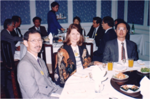Forum dinner – Drs Edgardo Gomez, Angela Arthington and Chien Yew-Hu