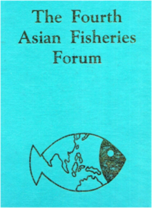 Proceedings of the 4AFF, Beijing, China 1995 – Front Cover