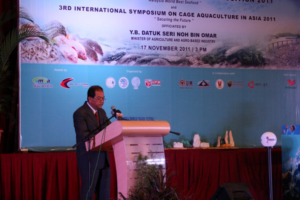 Opening address  Hon Datuk Seri Noh bin Omar, Minister of Agriculture & Agro-based Industry, Malaysia