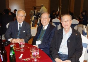 L to R: Dr Liao (President 6th Council), Dr Liu (President 4th Council) & Dr Lee (President 8th Council) at 10AFAF