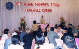 AFS President Dr IC Liao at the Farewell dinner