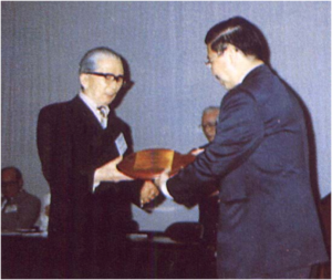 HLM Award to Dr S.W. Ling