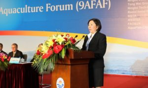 9th Asian Fisheries  Aquaculture Forum President Speech