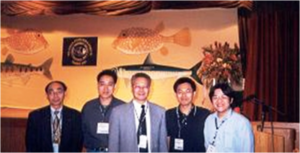Drs Chen Jiann-Chu and Shiau Shi-Yen & friends at 6AFAF