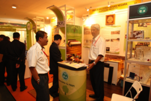 Visitors to booths of the Trade Exhibition – 3
